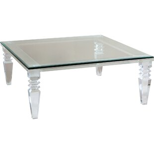 Acrylic Coffee Tables Youll Love Wayfair