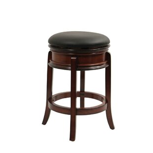 Avelina 24 Swivel Bar Stool Astoria Grand