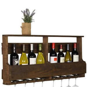 Layla Original Series 8 Bottle Wall Mounted Wine Rack by Gracie Oaks