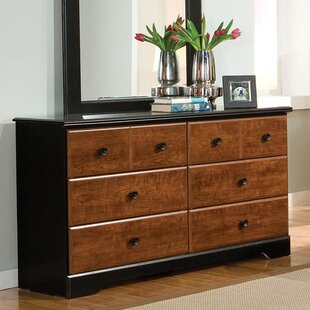 Postma 6 Drawer Double Dresser by Loon Peak