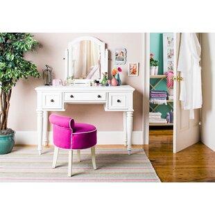 Astounding Chloe Vanity Stool Beatyapartments Chair Design Images Beatyapartmentscom