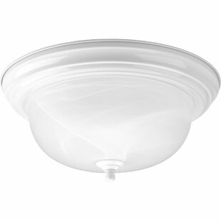 Constantia 2 Light Semi Flush Mount by Charlton Home