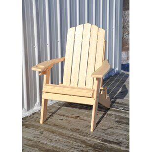 Country Classic Plastic Folding Adirondack Chair by Rosecliff Heights