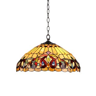 Keiser 2-Light Ceiling Bowl Pendant by Astoria Grand