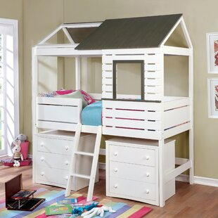 Affordable Eliseo Twin Canopy Bed ByZoomie Kids