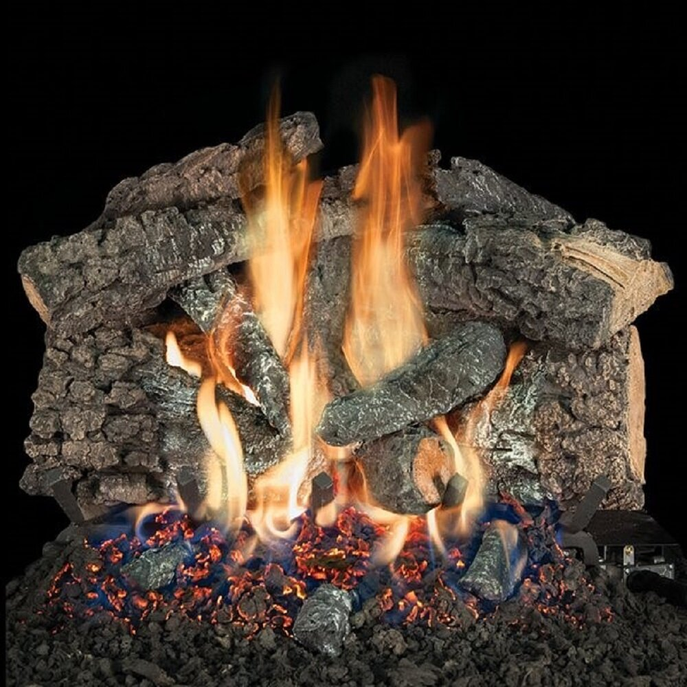 10 Inches To 19 Inches Gas Logs Gas Fireplace Inserts Logs You Ll Love In 2021 Wayfair