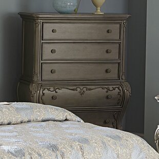 Turville 5 Drawer Chest by Astoria Grand Comparison