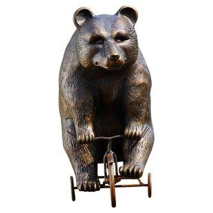SPI Home Big Bear Little Trike Statue
