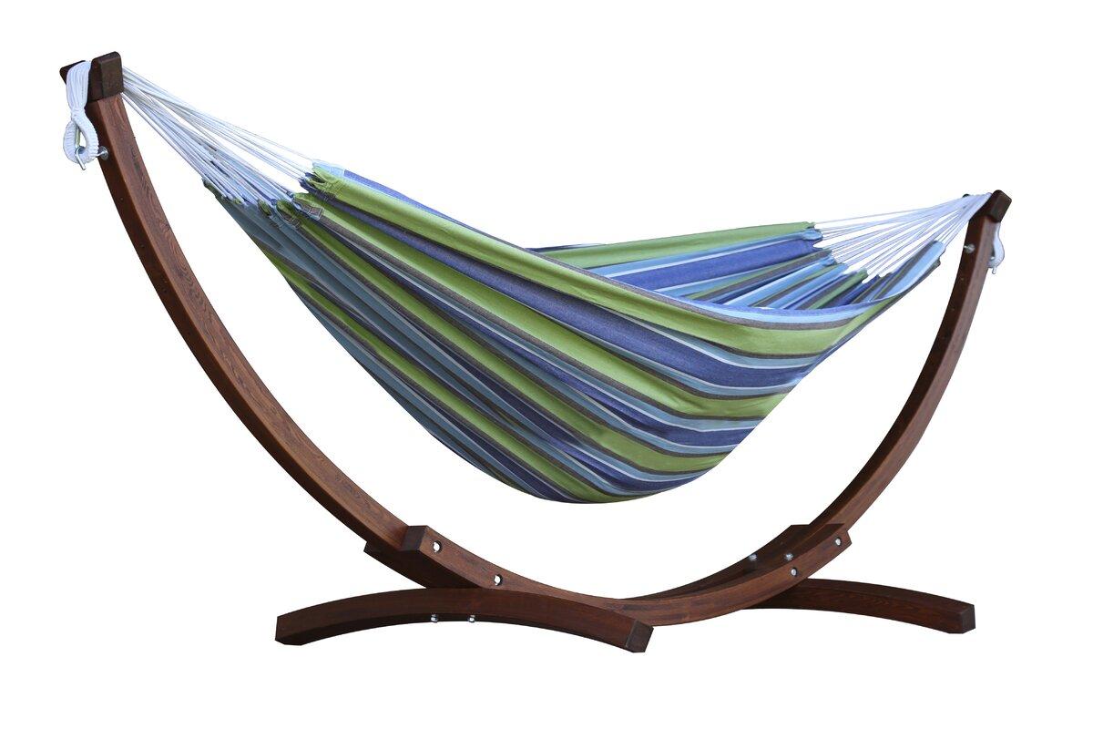 cotton hammock with stand vivere hammocks cotton hammock with stand  u0026 reviews   wayfair  rh   wayfair