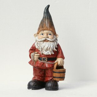 Gnome Statue by Winsome House