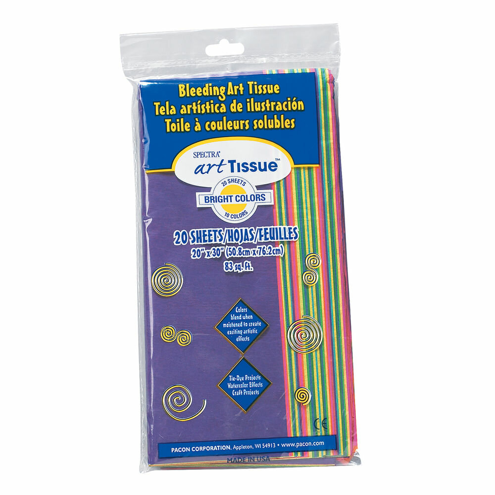 Pacon Creative Products Spectra Tissue Assorted Brite Color Wayfair