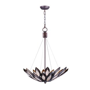 Pylant Single 6-Light Bowl Pendant by World Menagerie