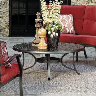 Metal Coffee Table by Darby Home Co