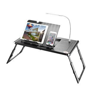 Aadvik Smart Table Laptop Tray by Rebrilliant