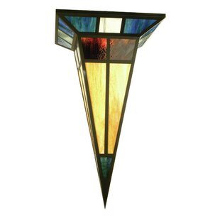 Meyda Tiffany Polaris 1-Light Flush Mount