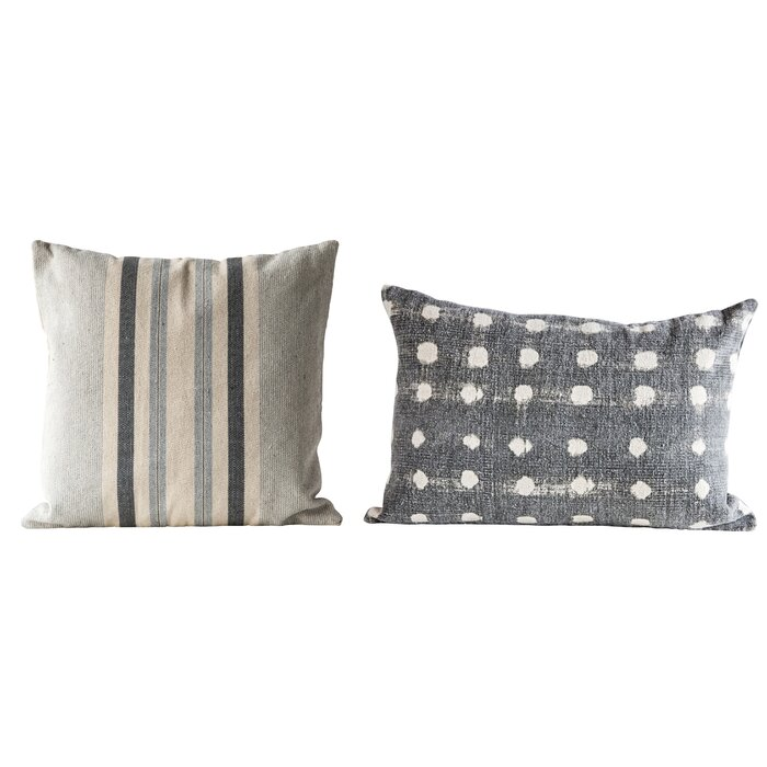 Swell Kory 2 Piece Cotton Throw Pillow Set Ocoug Best Dining Table And Chair Ideas Images Ocougorg