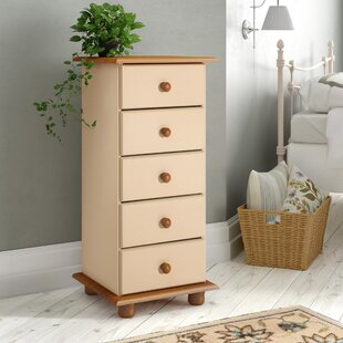 Agade 5 Drawer Chest By Natur Pur
