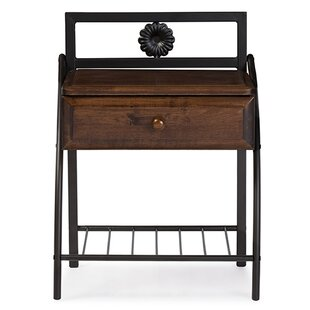 Best Choices Rowberrow 1 Drawer Nightstand by Winston Porter