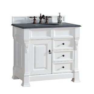 Price Check Bedrock 35 Single Cabinet Vanity Base Only ByDarby Home Co