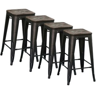 Williston Forge Wivenhoe Counter Stool, 2..