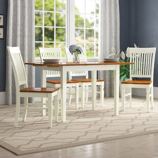 Holoman 5 Piece Extendable Breakfast Nook Dining Set by Three Posts