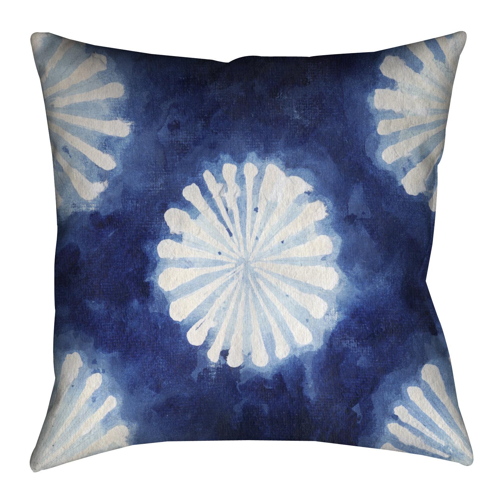 Lauralhome Brasher Shibori Iii Outdoor Throw Pillow Wayfair