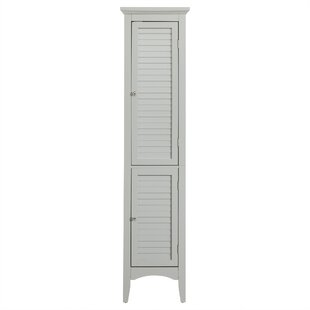 Glancy 15 W x 63 H Linen Tower