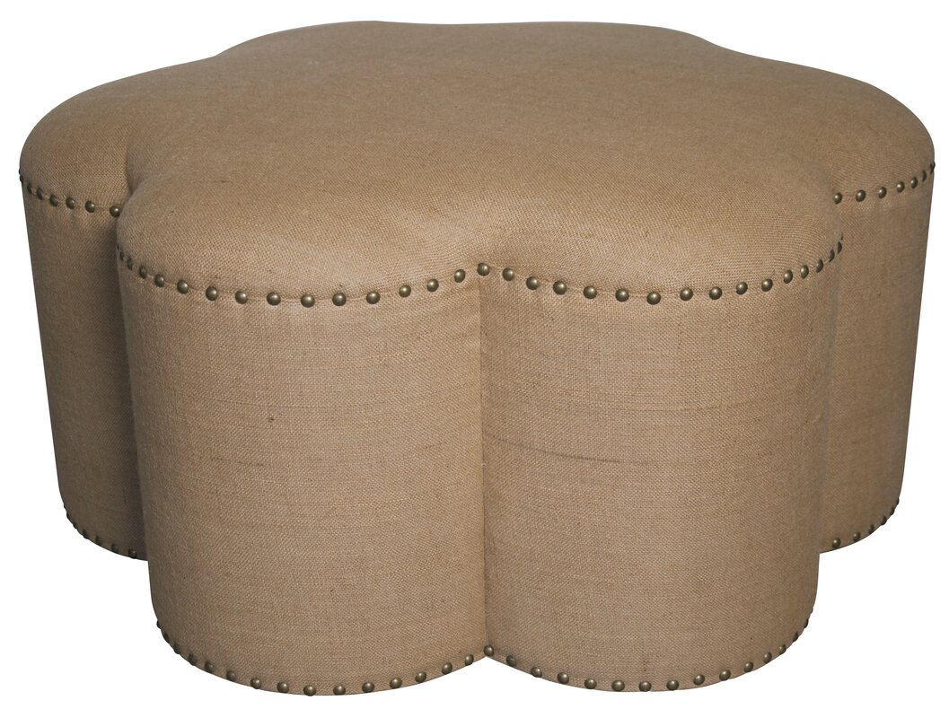 Flores Cocktail Ottoman By Muse Affordable Price Ottomans
