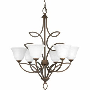 Red Barrel Studio Kanwit 6-Light Shaded Chandelier