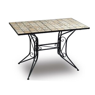 Culbane Iron Dining Table By World Menagerie