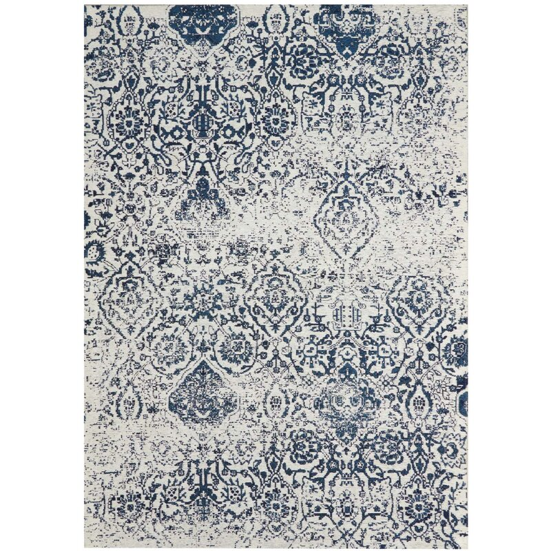 BEST NAVY WHITE RUGS