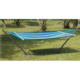 Powell Point Cotton Hammock with Stand