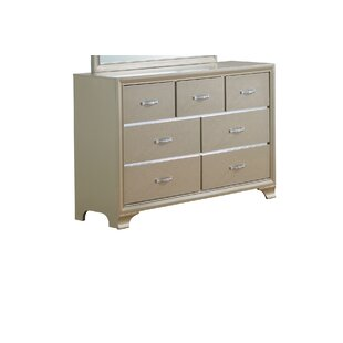 House of Hampton Royalton 7 Drawer Dresser w..