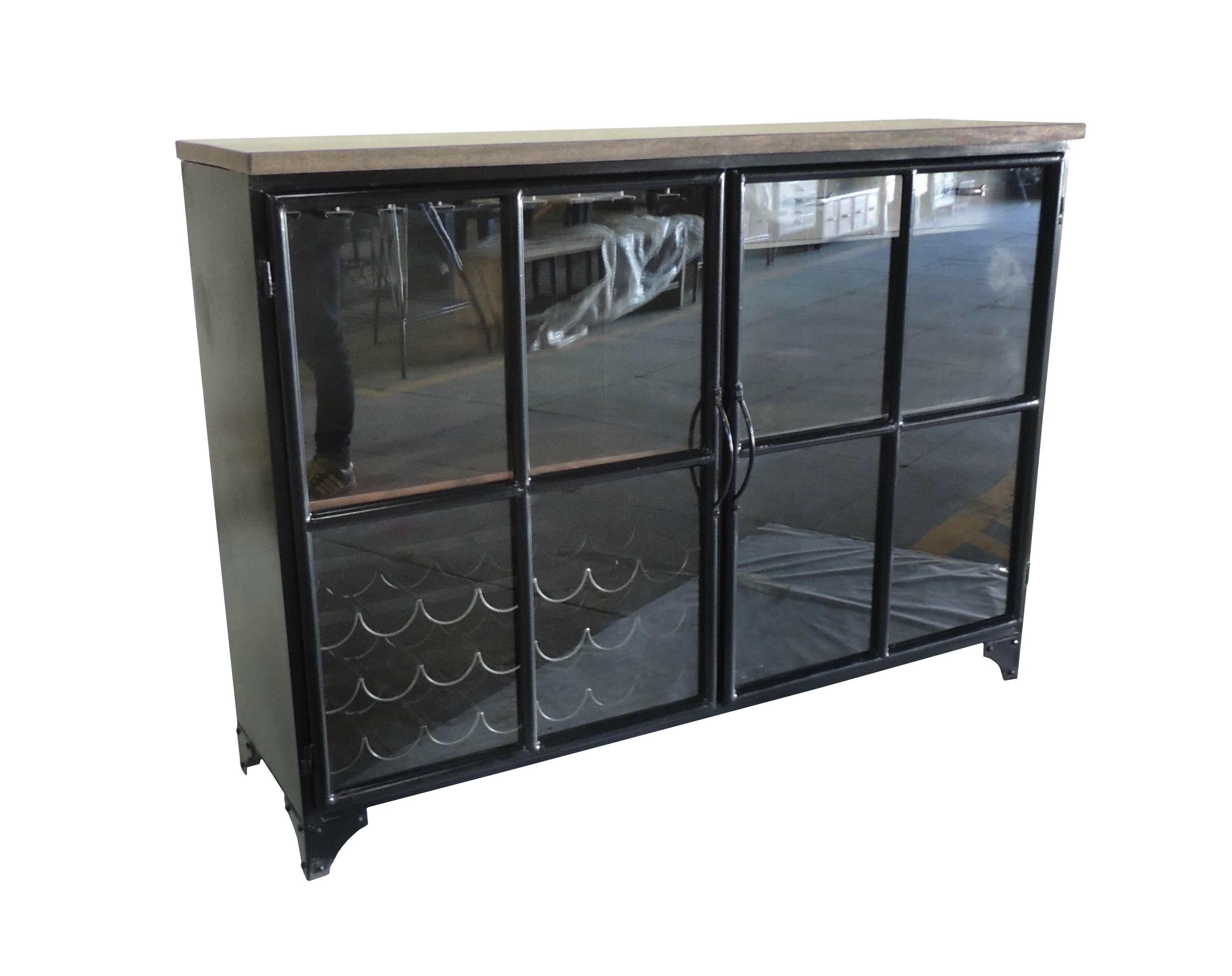Gracie Oaks Lorsworth 2 Door Bar Cabinet