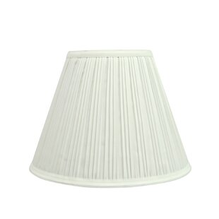 Pleated 10 Fabric Empire Lamp Shade