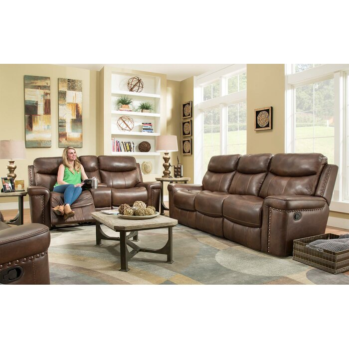 Pleasing Heineman Leather Reclining Loveseat Machost Co Dining Chair Design Ideas Machostcouk