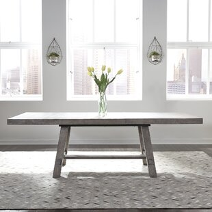 Trestle Extendable Dining Table