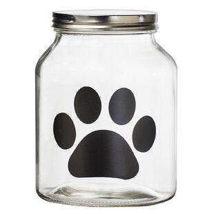 Buddy Paw Chalkboard Pet Treat Jar