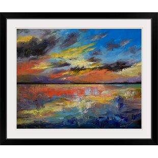 U0027Key West Sunset Graphic Art Print
