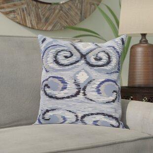 Kaylen Geometric Print Outdoor Pillow