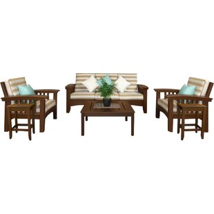 Days End 6 Piece Sunbrella Sofa Set with Cushions