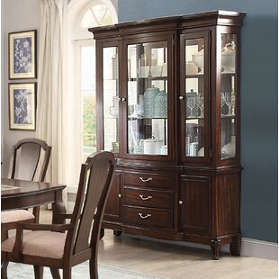 Kallas Buffet Lighted China Cabinet by Darby Home Co
