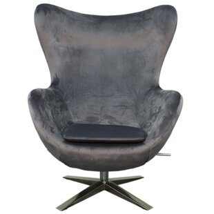 Brayden Studio Ledet Fabric Swivel Rocker Lounge Chair