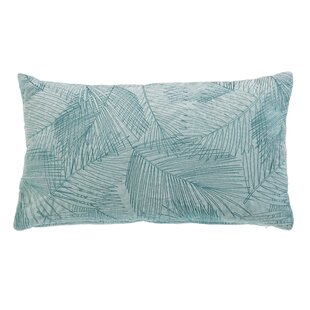 Anand Palm Cotton Lumbar Pillow