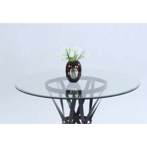 Winnie Wrought Iron Dining Table by Darby..