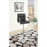 Shortridge Gas Lift Adjustable Height Bar Stool (Set of 2) by Orren Ellis