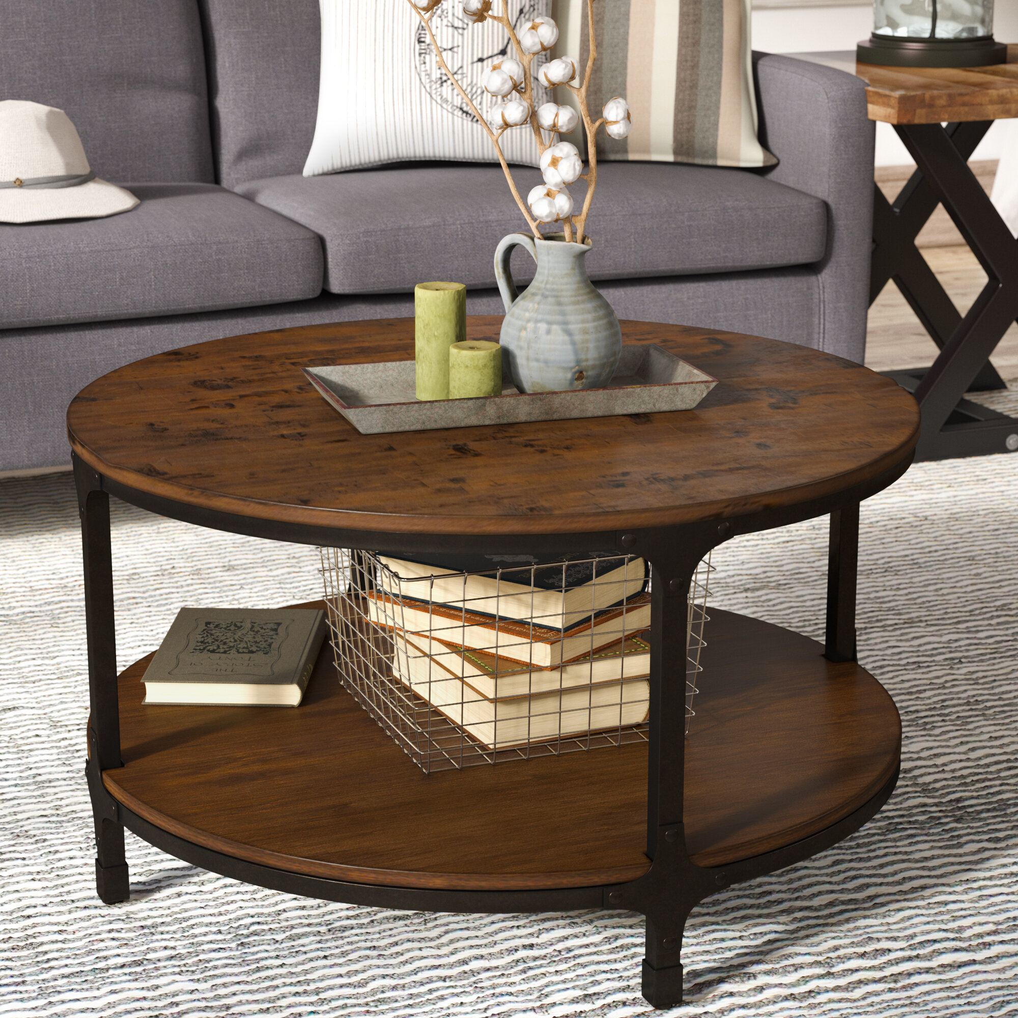 product accent tables end table profile round bernhardt