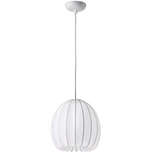 Scribner 1-Light Globe Pendant by Brayden Studio
