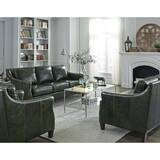 Barrington Leather Configurable Living Room Set by Canora Grey