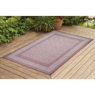 Satter Brick Indoor/Outdoor Area Rug